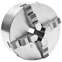 vidaXL 4 szorítópofás önközpontosító acél esztergatokmány 200 mm