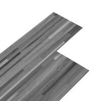vidaXL csíkos szürke 2 mm-es öntapadó PVC padlóburkolat 5,02 m²