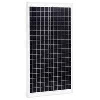 vidaXL alumínium és biztonsági üveg polikristályos napelem 30 W