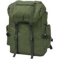 vidaXL katona stílusú 65 L hátizsák zöld
