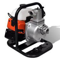 Kétütemű benzinmotoros vízszivattyú 1,2 kW 0,95 L