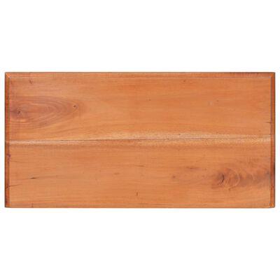 vidaXL tömör mahagónifa fiókos szekrény