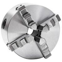 vidaXL 4 szorítópofás önközpontosító acél esztergatokmány 125 mm