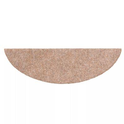 vidaXL 15 db barna, öntapadós lépcsőszőnyeg 54 x 16 x 4 cm