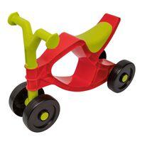 BIG Flippi ráülős piros és zöld kerékpár