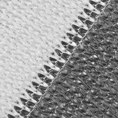 vidaXL balkon napellenző HDPE 75x600 cm Antracit és fehér