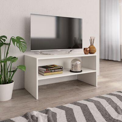 vidaXL fehér forgácslap TV-szekrény 80 x 40 x 40 cm