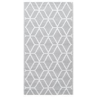 vidaXL szürke PP kültéri szőnyeg 80 x 150 cm