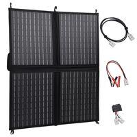 vidaXL összecsukható napelemtöltő 80 W/12 V