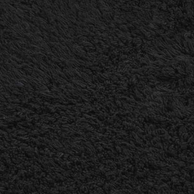 vidaXL 3 darabos antracitszürke szövet fürdőszobaszőnyeg-garnitúra