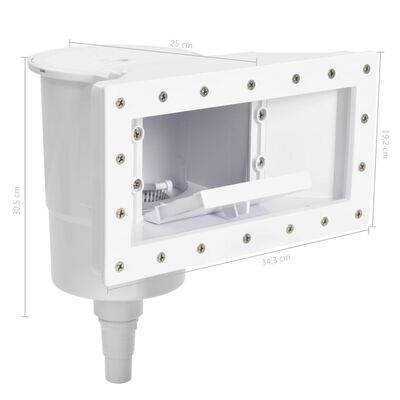 vidaXL 11 darabos széles szájú medenceszűrő 34,3 x 25 x 30,5 cm