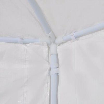 vidaXL 2x2 m fehér 6 oldalfalú rendezvénysátor