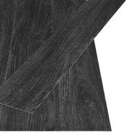 vidaXL antracit tölgyszínű öntapadós PVC padlódeszkák 4,46 m² 3 mm