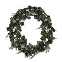 Zöld Karácsonyi Koszorú ⌀ 50 Cm Filpus