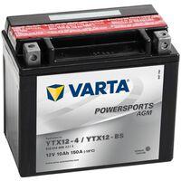 Varta Powersports AGM YTX12-4/YTX12-BS motorkerékpár akkumulátor