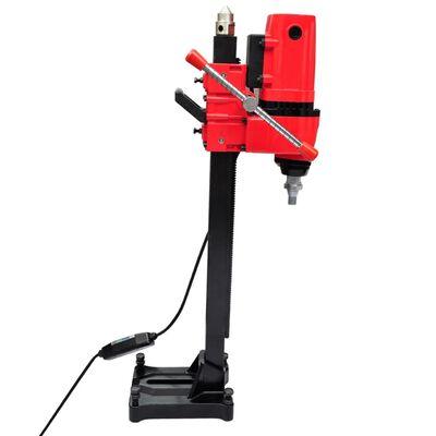 vidaXL nedves üzemű magfúrógép állvánnyal és fejekkel