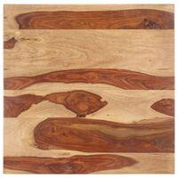 vidaXL tömör kelet-indiai rózsafa asztallap 25-27 mm 60 x 60 cm