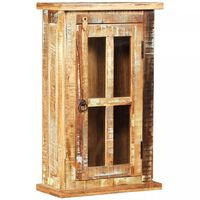 vidaXL tömör újrahasznosított fa faliszekrény 44 x 21 x 72 cm