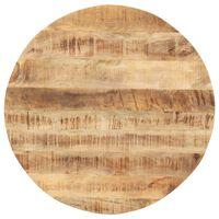 vidaXL kerek tömör mangófa asztallap 15-16 mm 40 cm