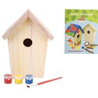 Esschert design DIY Fészekrakó doboz festék 14.8x11.7x20 cm KG145