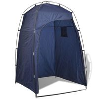 vidaXL tusoló/wc/öltöző sátor kék