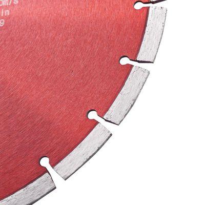 vidaXL gyémánt vágókorong acéllal 350 mm