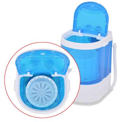 vidaXL mini egykádas mosógép 2,6 kg