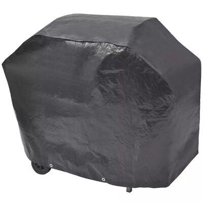 vidaXL fekete gáz grillsütő 6+1 főzőfelülettel