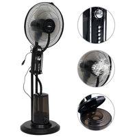 vidaXL 3 sebességes fekete álló ködventilátor