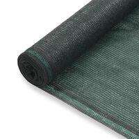 vidaXL zöld HDPE teniszháló 1,6 x 100 m