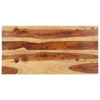 vidaXL tömör kelet-indiai rózsafa asztallap 25-27 mm 60 x 140 cm