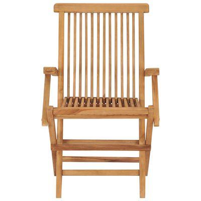 vidaXL 8 db tömör tíkfa kerti szék élénkzöld párnával