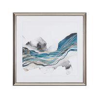 Kék És Szürke Fali Kép 60 x 60 cm BAGI
