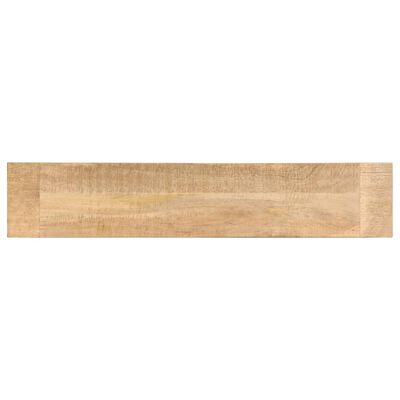 vidaXL tömör mangófa előszobai pad 160 x 35 x 45 cm