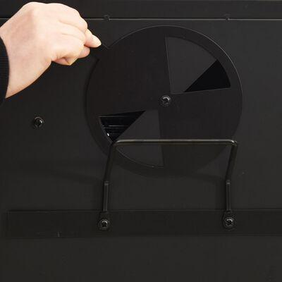 vidaXL acél füstölő kemence 55 x 47,5 x 100,5 cm