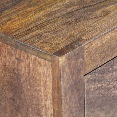 vidaXL tömör mangófa TV-szekrény 140 x 30 x 40 cm