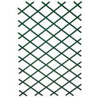 Nature 2 db zöld PVC kerti növényfuttató rács 100 x 200 cm