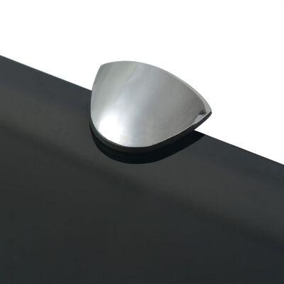 vidaXL 2 db lebegő üvegpolc 70 x 10 cm 8 mm