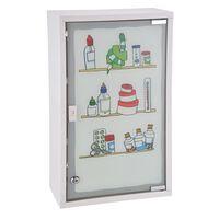 HI rozsdamentes acél gyógyszeres szekrény 30 x 15 x 50 cm