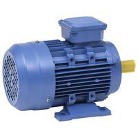 vidaXL 2 pólusú 3 fázisú alumínium elektromos motor 2,2kW/3LE 2840 f/p