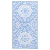 vidaXL babakék PP kültéri szőnyeg 120 x 180 cm