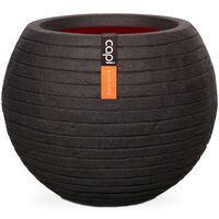 Capi Nature Row KBLRO271 fekete gömb alakú váza 62 x 48 cm