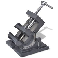 vidaXL manuálisan működtetett dönthető satu 110 mm