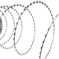 NATO Borotva Drót Harmonika Spirális Horganyzott Acélhuzal 100m