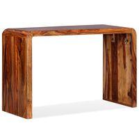 vidaXL barna, tömör kelet-indiai rózsafa tálaló/íróasztal