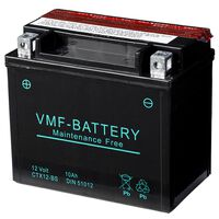 VMF Powersport Liquifix 12 V 10 Ah MF YTX12-BS akkumulátor