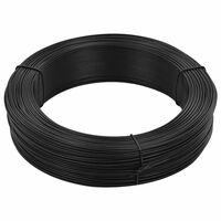 vidaXL antracitszürke acél kerítésösszekötő drót 250 m 1,4/2 mm