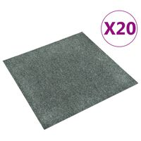 vidaXL 20 db zöld padlószőnyeg lap 5 m²