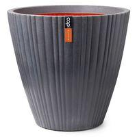 Capi Urban Tube sötétszürke kúpos váza 55 x 52 cm