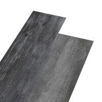 vidaXL fényes szürke 2 mm-es PVC padlóburkolat 5,26 m²